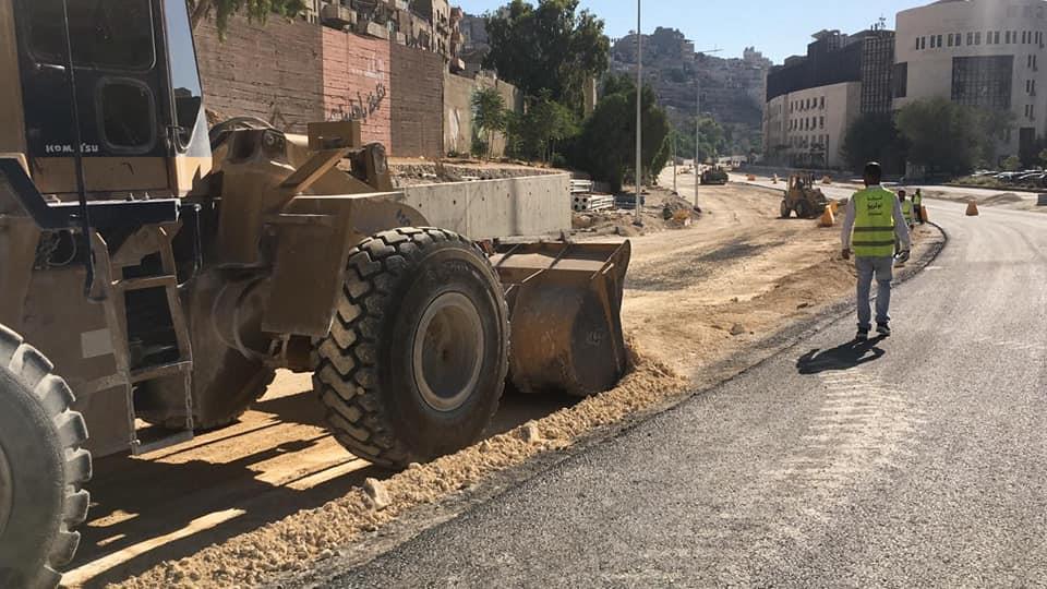 بيانات مشروع تقاطع عمر مطر وساحة النوافير