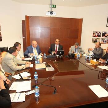 إجتماع تنسيقي حول مشروعي الباص سريع التردد داخل مدينة عمان وبين عمان والزرقاء