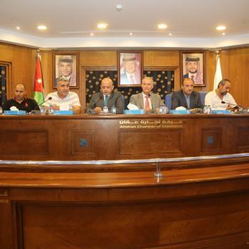 لقاء تشاوري بين الأمانة وغرفة تجارة عمان قبل تنفيذ وصلة شارع الشريف ناصر لمشروع الباص سريع