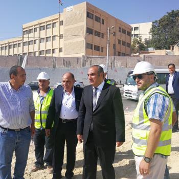 أمين عمان يتابع سير العمل في محطة ركاب صويلح